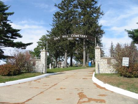 OAK HILL, CEMETERY - Tama County, Iowa | CEMETERY OAK HILL