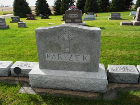 PARIZEK, FAMILY - Tama County, Iowa | FAMILY PARIZEK