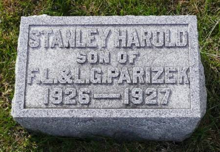 PARIZEK, STANLEY - Tama County, Iowa | STANLEY PARIZEK