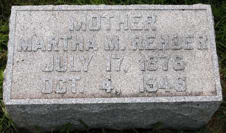 REHDER, MARTHA M. - Tama County, Iowa | MARTHA M. REHDER