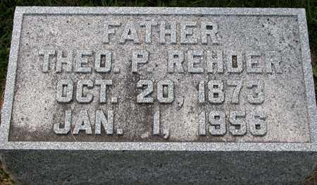 REHDER, THEODORE P. - Tama County, Iowa | THEODORE P. REHDER