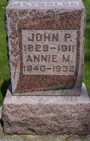 REYNOLDS, ANNIE M - Tama County, Iowa | ANNIE M REYNOLDS