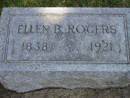 BISHOP ROGERS, ELLEN VAIL - Tama County, Iowa | ELLEN VAIL BISHOP ROGERS