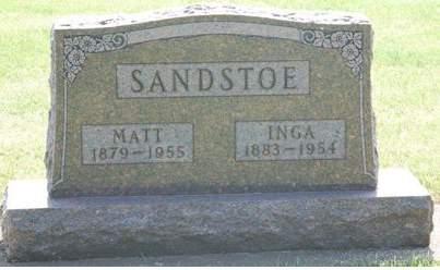 SANDSTOE, INGA - Tama County, Iowa | INGA SANDSTOE