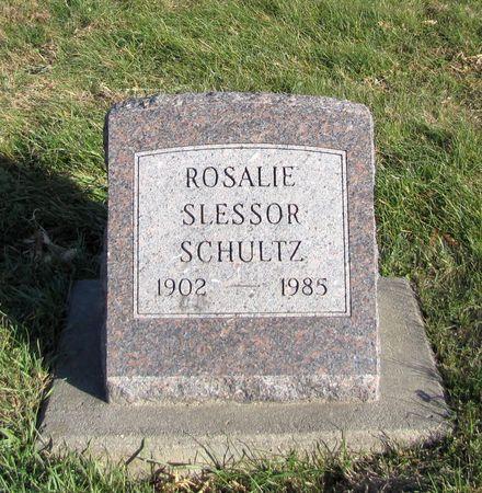 SLESSOR SCHULTZ, ROSALIE - Tama County, Iowa | ROSALIE SLESSOR SCHULTZ