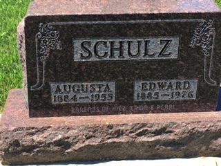 SCHULZ, AUGUSTA - Tama County, Iowa | AUGUSTA SCHULZ