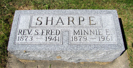 SHARPE, STEPHEN FRED - Tama County, Iowa | STEPHEN FRED SHARPE