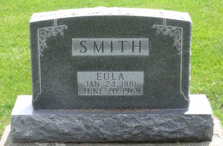 SMITH, EULA - Tama County, Iowa | EULA SMITH