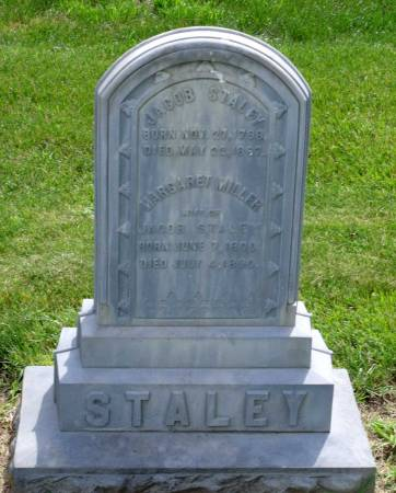 MILLER STALEY, MARGARET - Tama County, Iowa | MARGARET MILLER STALEY