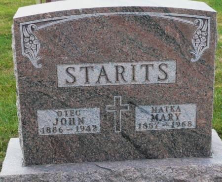 STARITS, JOHN - Tama County, Iowa | JOHN STARITS