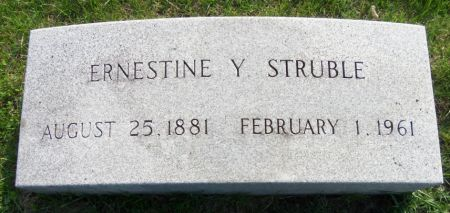 STRUBLE, ERNESTINE - Tama County, Iowa | ERNESTINE STRUBLE