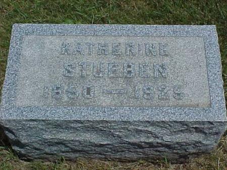 STUEBEN, KATHERINE - Tama County, Iowa | KATHERINE STUEBEN