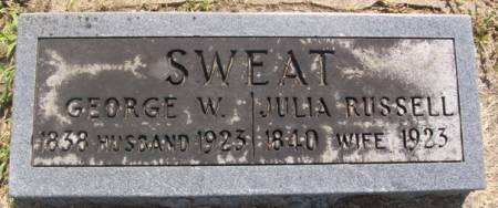 SWEAT, JULIA - Tama County, Iowa | JULIA SWEAT