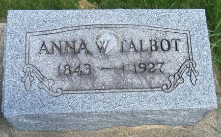 TALBOT, ANNA - Tama County, Iowa | ANNA TALBOT