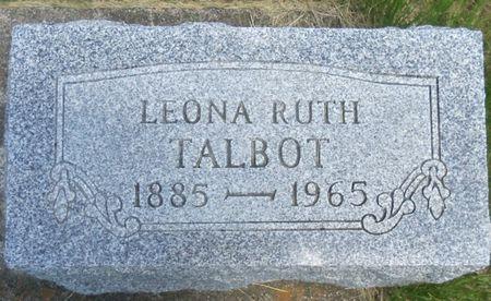 TALBOT, LEONA - Tama County, Iowa | LEONA TALBOT