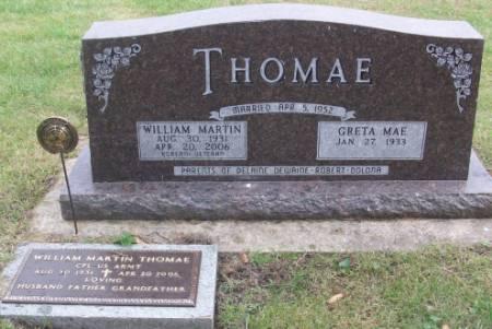 THOMAE, GRETA - Tama County, Iowa | GRETA THOMAE