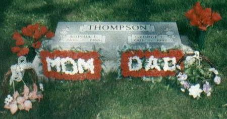 THOMPSON, GEORGE C. & SOPHIA E. - Tama County, Iowa | GEORGE C. & SOPHIA E. THOMPSON