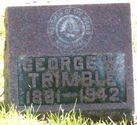 TRIMBLE, GEORGE - Tama County, Iowa | GEORGE TRIMBLE