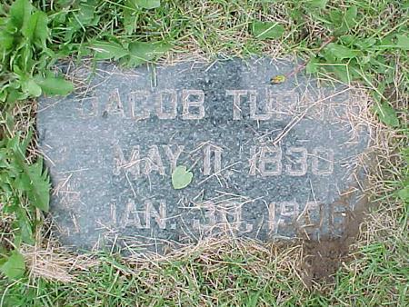 TURNER, JACOB - Tama County, Iowa | JACOB TURNER