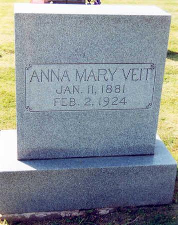 VEIT, ANNA  MARY - Tama County, Iowa | ANNA  MARY VEIT
