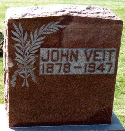 VEIT, JOHN - Tama County, Iowa   JOHN VEIT