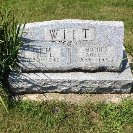 WITT, FRED - Tama County, Iowa | FRED WITT