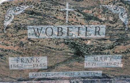 WOBETER, MARY - Tama County, Iowa | MARY WOBETER