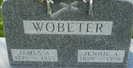 WOBETER, JENNIE A. - Tama County, Iowa | JENNIE A. WOBETER
