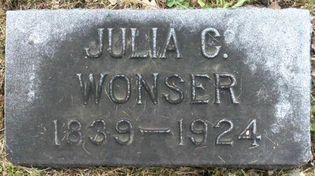 WONSER, JULIA - Tama County, Iowa | JULIA WONSER