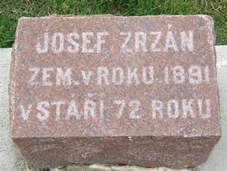ZRZAN, JOSEF - Tama County, Iowa | JOSEF ZRZAN