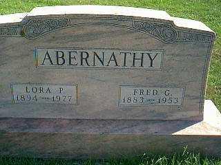 ABERNATHY, LORA P. - Taylor County, Iowa | LORA P. ABERNATHY