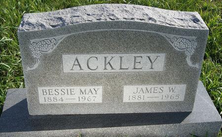 DUGAN ACKLEY, BESSIE MAY - Taylor County, Iowa   BESSIE MAY DUGAN ACKLEY