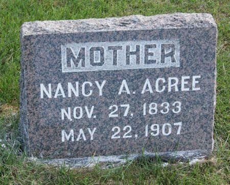 NASH ACREE, NANCY ANN - Taylor County, Iowa | NANCY ANN NASH ACREE