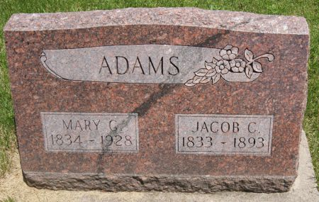 ADAMS, MARY CATHERINE - Taylor County, Iowa | MARY CATHERINE ADAMS