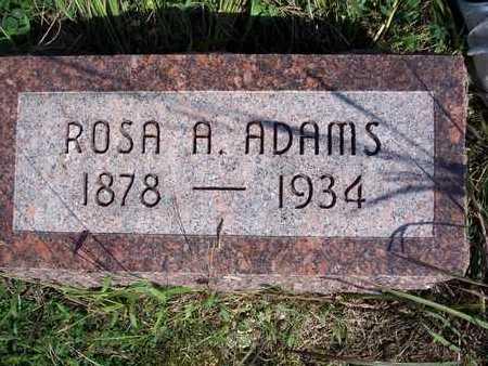 ADAMS, ROSA A. - Taylor County, Iowa | ROSA A. ADAMS