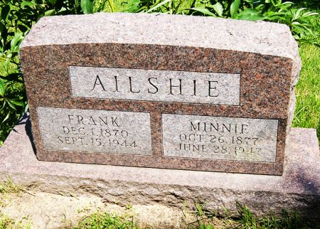 AILSHIE, JAMES FRANK - Taylor County, Iowa   JAMES FRANK AILSHIE