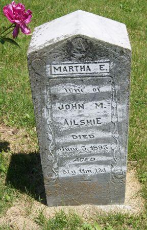 SLEETH AILSHIE, MARTHA ELZABETH - Taylor County, Iowa | MARTHA ELZABETH SLEETH AILSHIE