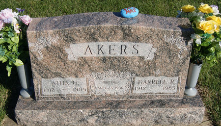CUNNING AKERS, ATHA UVON - Taylor County, Iowa | ATHA UVON CUNNING AKERS