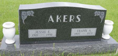 AKERS, FRANK ABRAM - Taylor County, Iowa | FRANK ABRAM AKERS