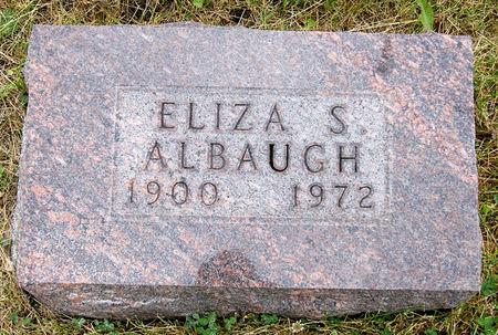 RAKE ALBAUGH, ELIZA SARAH - Taylor County, Iowa | ELIZA SARAH RAKE ALBAUGH