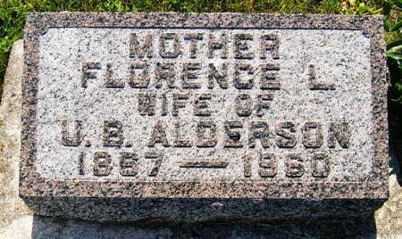 MURPHY ALDERSON, FLORENCE LOUISE - Taylor County, Iowa | FLORENCE LOUISE MURPHY ALDERSON