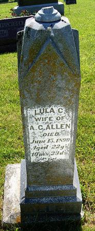 CUTLER ALLEN, LULA - Taylor County, Iowa   LULA CUTLER ALLEN