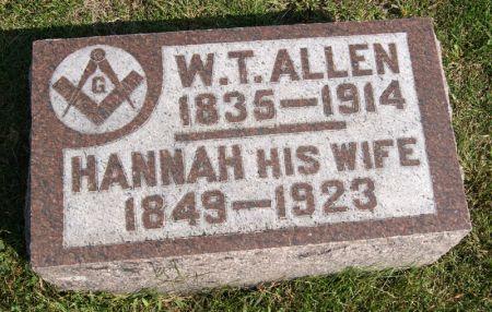 ALLEN, WILLIAM THOMAS - Taylor County, Iowa | WILLIAM THOMAS ALLEN