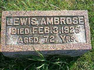 AMBROSE, LEWIS - Taylor County, Iowa | LEWIS AMBROSE