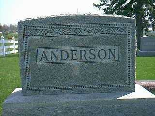 ANDERSON, FAMILY - Taylor County, Iowa | FAMILY ANDERSON