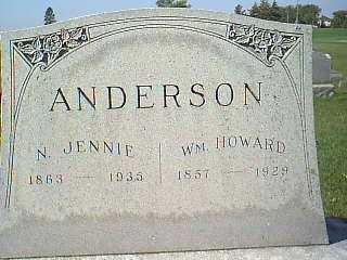 ANDERSON, WM HOWARD - Taylor County, Iowa | WM HOWARD ANDERSON