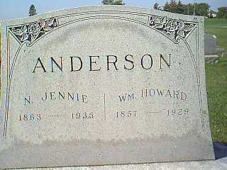 ANDERSON, N. JENNIE - Taylor County, Iowa | N. JENNIE ANDERSON