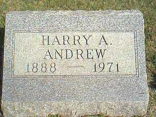 ANDREW, HARRY A. - Taylor County, Iowa   HARRY A. ANDREW