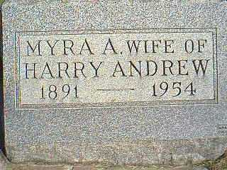 ANDREW, MYRA A. - Taylor County, Iowa | MYRA A. ANDREW