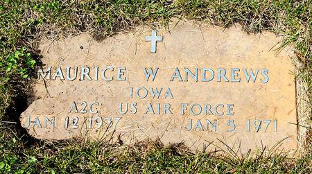 ANDREWS, MAURICE W. - Taylor County, Iowa | MAURICE W. ANDREWS